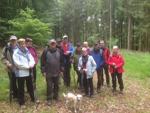 Am Pfingstmontag, den 16.05.2016 ging es mit Hund und Gast in den Balver Wald.