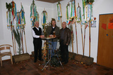 3 Männer im Wimpelwald