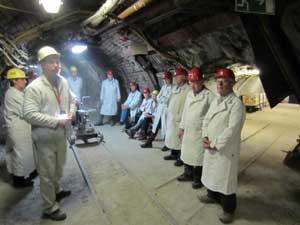 Besuch im Trainingsbergwerk Recklinghausen