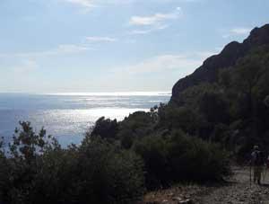 Wandern auf der Insel Lesvos