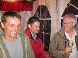 Von links nach rechts, Thomas, Frank und Berthold