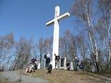 Ankunft am Kreuz