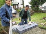 Burkhard und Thomas halten die Waage