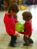 Kindertanz in der Halle