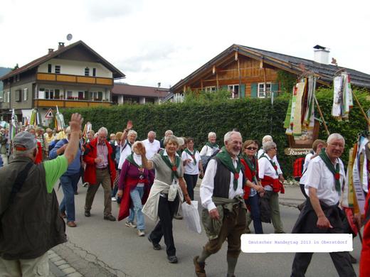 Dt. Wandertag `13 - wir waren dabei (Foto: G. Schramm)