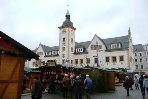 Das Freiberger Rathaus