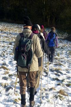 Winterwandern nahe Breckerfeld