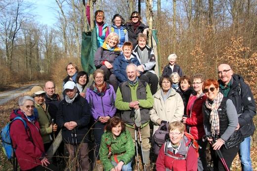 Wanderung Arnsberger Wald (Hirschberg), März 2017