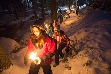 Winterwandern im Fichtelgebirge - (Foto: A. Hub, DWV)