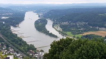 Rheinsteig mit Superaussicht