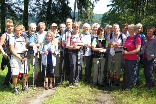 Tageswanderung Oberes Felderbachtal am 06.08.2017 mit Manfred Igel