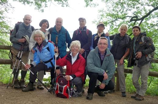 Wanderfreizeit im Sept. 2017 in der Eifel (Foto: K. Credo, SGV)