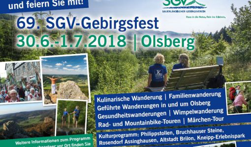 SGV-Gebirgfest 2018