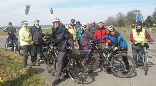 Saisonstart: Radwanderung am 30.03.2018 Kurl-Kamen-Massen-Wickede, Foto: R. Schäfer