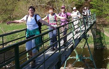 Wandern macht gute Laune (Foto: K. Credo, SGV)