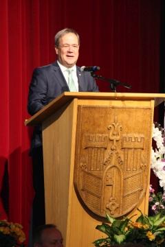DWT - Ministerpräsident Laschet bei seiner Eröffnungsrede