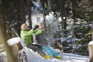 Winterfreude im Vogtland