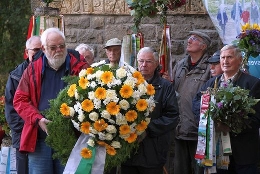 Kohlbergtreffen am 09.10.2016 (Foto: M. Penzel, SGV)