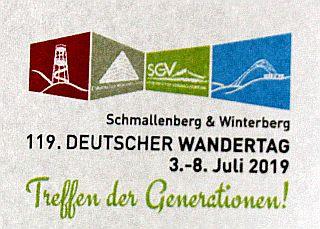Deutscher Wandertag 2019 - das große Event im Sauerland.