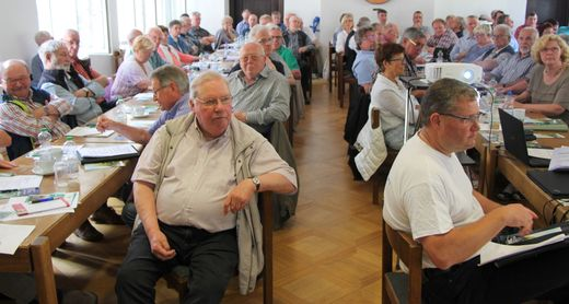 Vorsitzendenkonferenz am 21.04.2018 in Altena