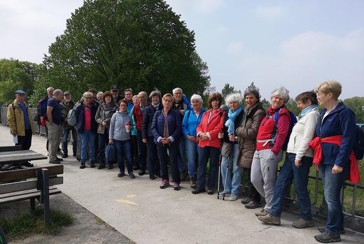 Wanderung des SGV DO-Hoechsten in den Olfener Steverauen
