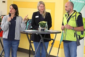 Talk mit Isabell Heimann, Henrike Pirillo und Christian Schmidt