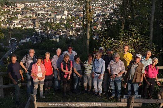Feierabendwanderung Rüdenburg