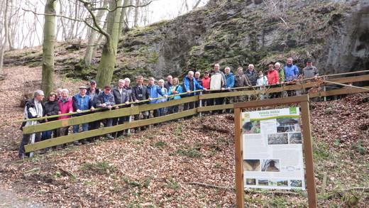 10Uhr10 Wanderung bei Föckinghausen und Besuch der Veledahöhle