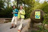 (7/8) Wanderer auf dem Weserbergland-Weg XW (c) Weserbergland Tourismus e.V.