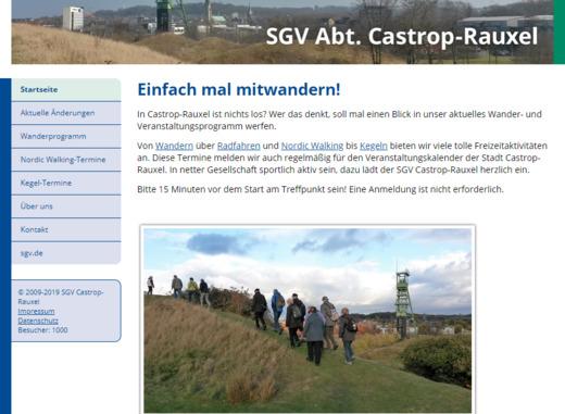 Schon 1000 Besucher auf der neuen Website (Stand des Zählers links unten am 27.3.2019)