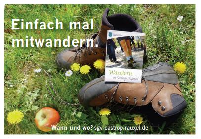 Neue Postkarte des SGV, Abteilung Castrop-Rauxel