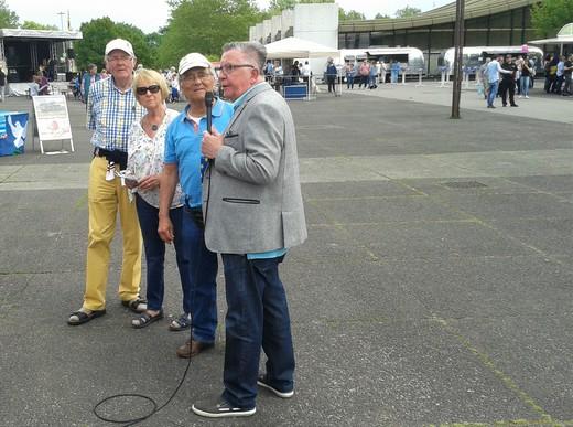 CAS-TV Bürgerfernsehen interviewt den 1. Vorsitzenden Manfred Pietschmann