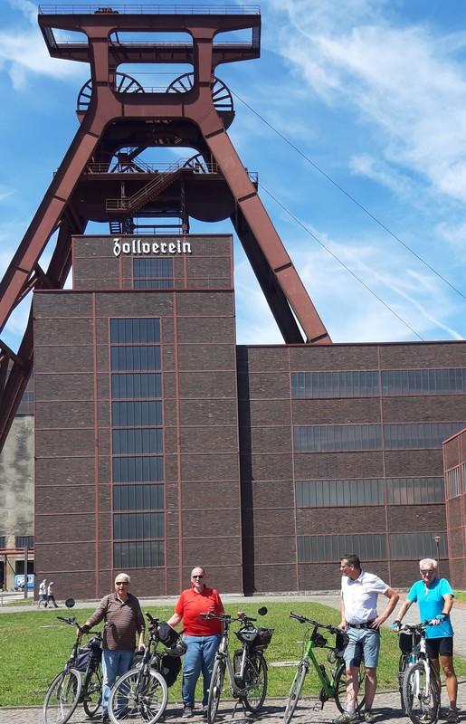 Himmlische Radtour zur Zeche Zollverein in Essen