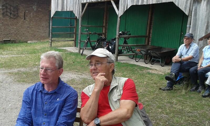 Unsere Vorsitzende: Claus Quentin und Manfred Pietschmann