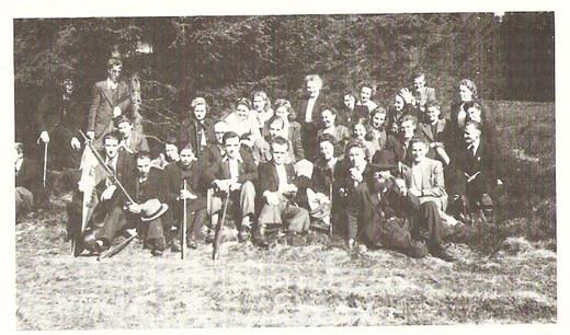 Endorfer SGV-er am 19.10.1946 , Niedersalway