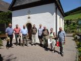 Vor der Kapelle in Isingheim