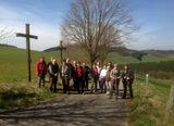 Auf der Golddorf-Route in Kirchrarbach 19.04.14