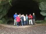 Vor der Feldhofhöhle