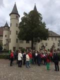 Vor dem Schloss in Lohr am Main