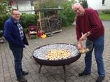 Kartoffelbraten auf Than's Hof 25.09.15