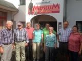 Vor dem Schwerspatmuseum in Dreislar 14.08.16