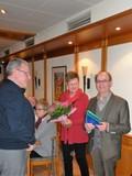 Ehrung für 60 Jahre Mitgliedschaft und Verleihung der silbernen Ehrennadel