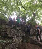 Felsenklettern im Weserbergland