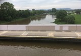 Kreuzung der Weser mit dem Mittellandkanal