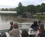 Schiffmühle in der Weser bei Minden