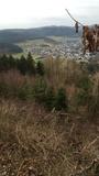 Freie Sicht auf Endorf vom Dömberg