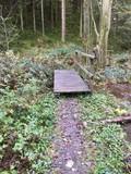 Brücken in Endorferhütte am Wanderweg A4 Parkplatz Gehren