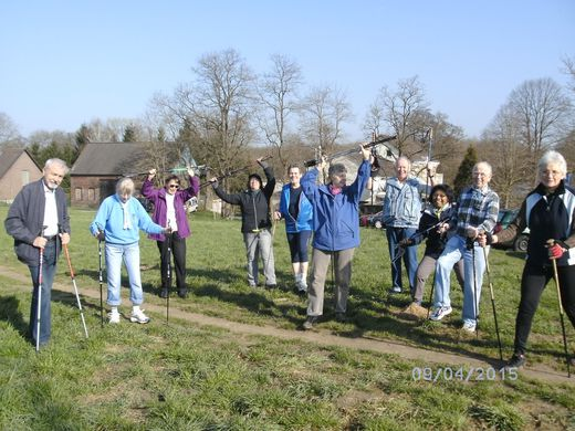 Unsere Nordic - Walking  Gruppe