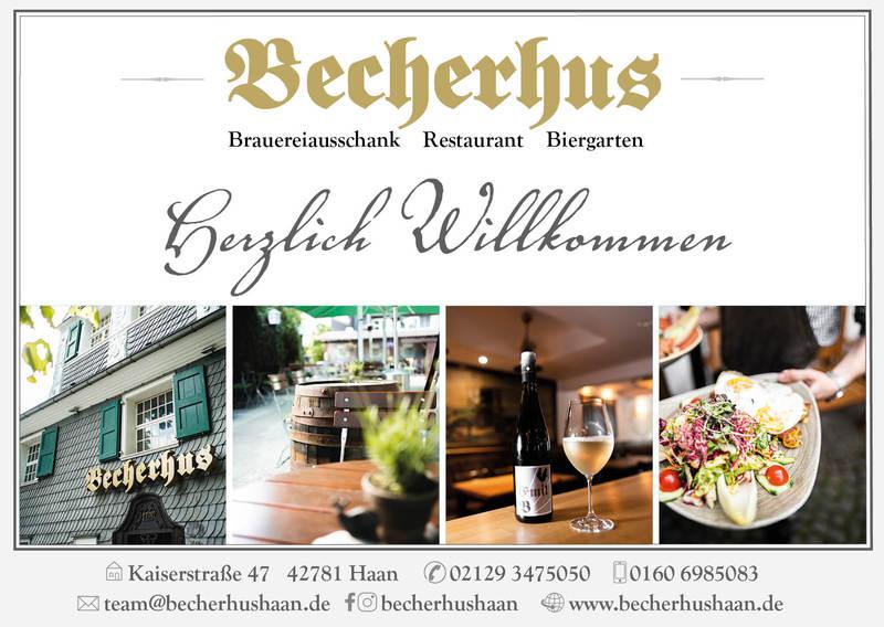 Anzeige Becherhus Haan