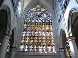 18.04.2015 Berg. Jacobsweg Das schöne Kirchenfenster im Dom